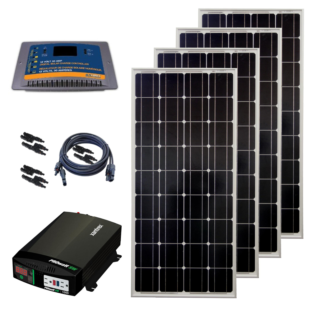 DIY Solar Panel Home Kits